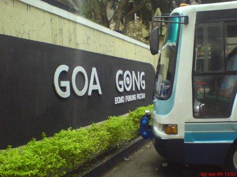 Sampai di Goa Gong
