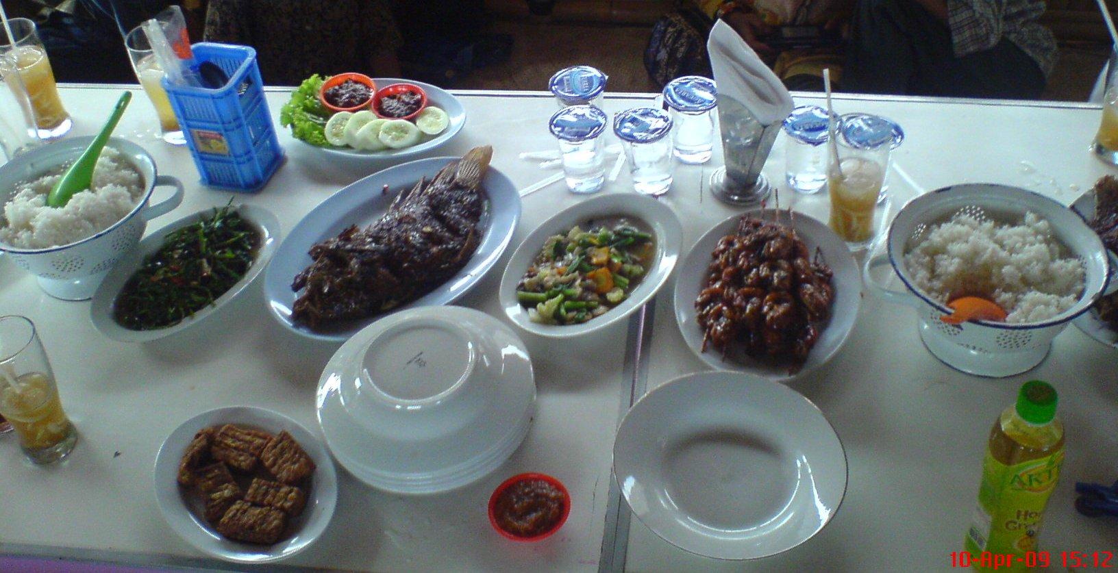 Paket A Jambon Resto, untuk 5 orang