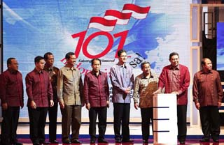 SBY resmikan tv digital (foto dari website presidensby.com)