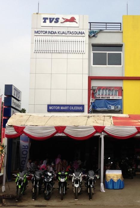 2_Dealer TVS Motor Mart Ciledug Tangerang layanan 3S sales service spareparts