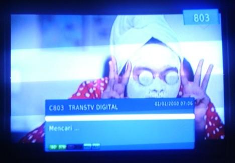 TrnasTV digital di Jogja