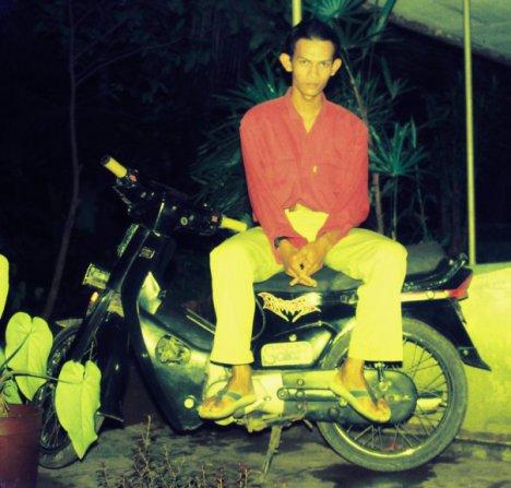 honda astrea star tahun 1988 ini yang dulu saya pakai kampanye