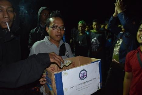 Melalui aksi penggalangan dana sosial, PMHY mengajak semua bikers untuk memiliki rasa kemanusiaan membantu korban longsor dan banjir di Banjarnegara, Jawa Tengah.
