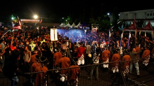 Prosesi Gunungan yang sangat erat kaitannya dengan budaya Yogyakarta menjadi salah satu inti acara Jambore Nasional pertama ini. Dikawal oleh pasukan Lombok Abang dari Kraton Yogyakarta sebanyak dua gunungan yang menjadi simbol Asosiasi StreetFire Indonesia (ASFI) dan Jogja Streetfire Club (JOSEFIC) menjadi rebutan bagi peserta Jambore Nasional.